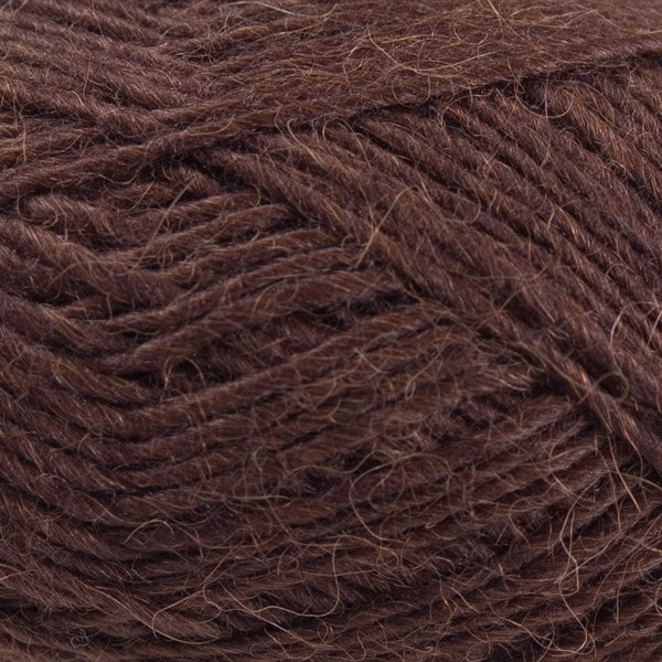 6202 Mørkebrun - Lama uld fra Camarose