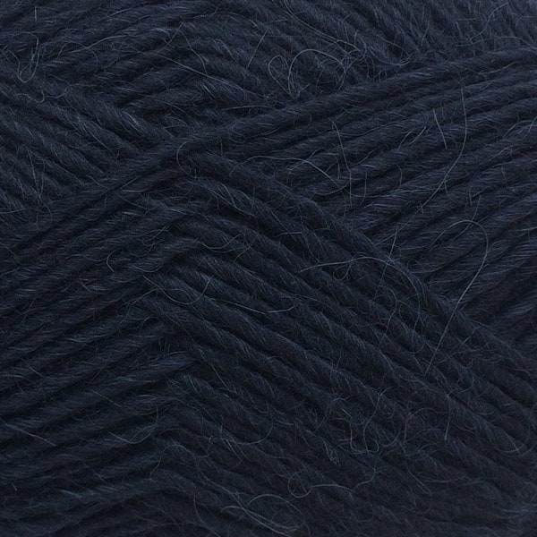6560 Marineblå - Lama uld fra Camarose