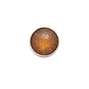Bilde av KN443 Knapp brun/gull 18mm