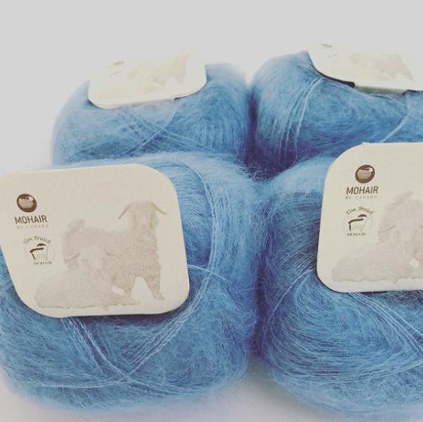 3012 Isblå Brushed Lace