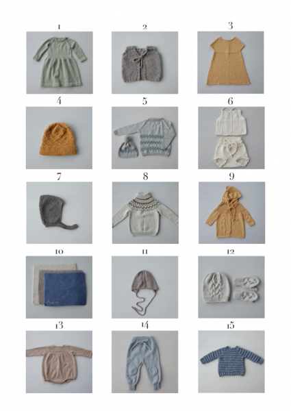 Vol 2 - RO ett heftet med inspirasjon og strikkeoppskrifter