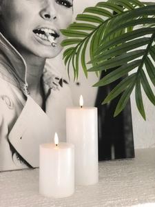 Bilde av Naturtro LED-kubbelys, hvit -
