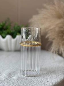 Bilde av Vaso klart glass / gull