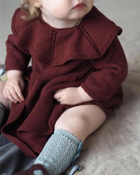 Clara finkjole av Clara Knitwear