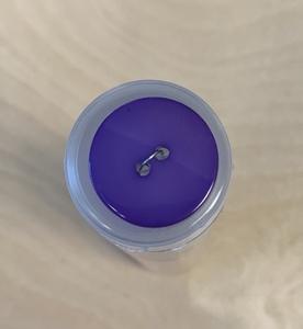 Bilde av Lilla knapp, delt med skimmer
