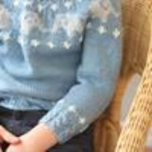 Bilde av Elligenser - strikkeoppskrift