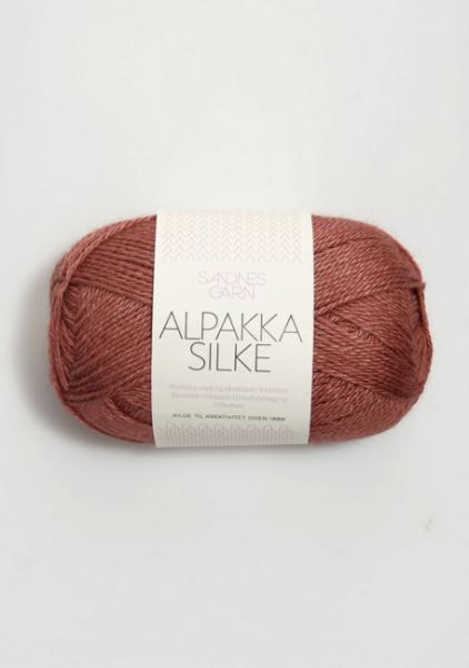 3543 AlpakkaSilke Varm Brun