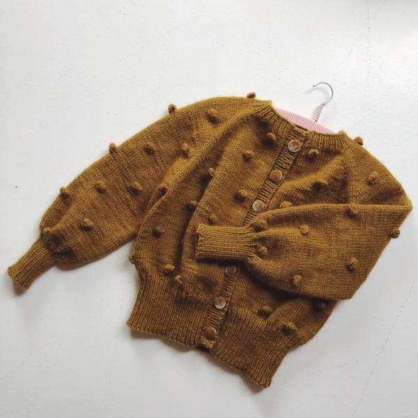 Mors popcornbomber av Nordic Knitting Tale