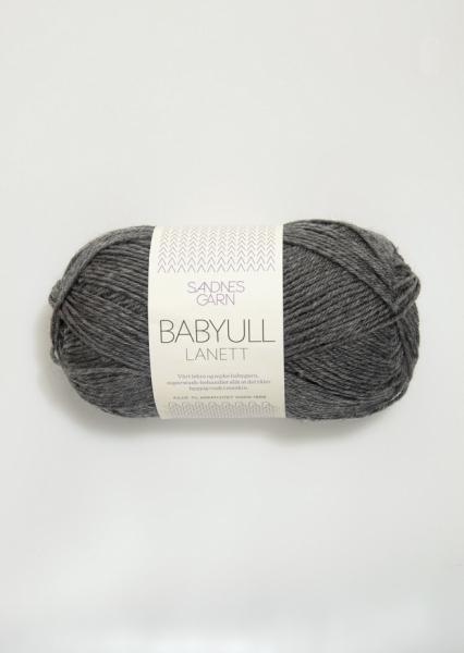 1053 BabyullLanett Mørk Gråmelert