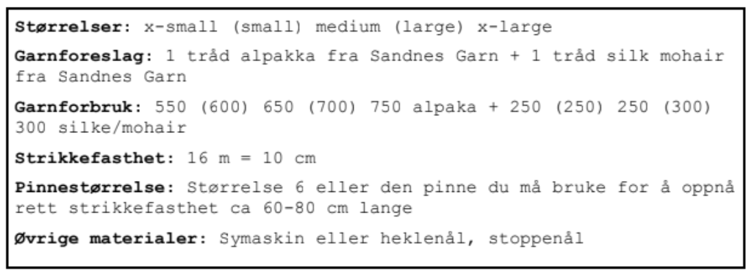 Mors Ynglingscardigan a nordic knitting tale