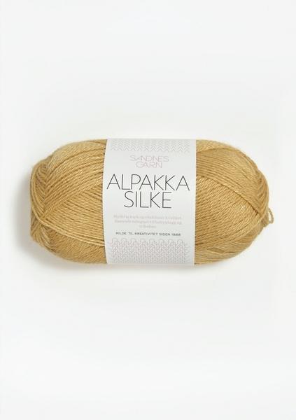 2113 AlpakkaSilke strågul