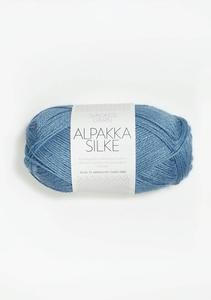 Bilde av 6573 Alpakka Silke kornblomst