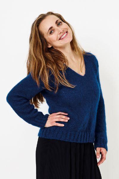 894184 Angel Sweater m/ v-hals
