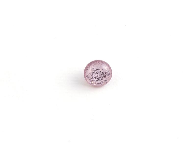 Øyeknapp Glitter 11mm Rosa