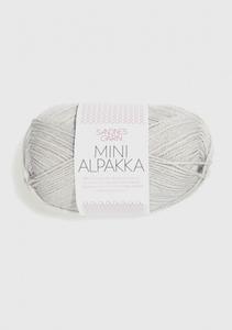 Bilde av 2320 Mini Alpakka Kalkmelert