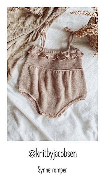 Synne romper by Therese Jacobsen