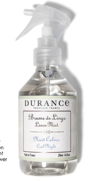 Durance Linen mist spray Lavendel