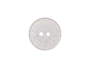 Bilde av Glitter plastknapp, Lys rosa