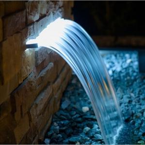 Bilde av VANNFALL M/HVITT LED LYS 60cm SAFE-RAIN