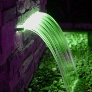Bilde av VANNFALL M/RGB + HVITT LED LYS 60cm SAFE-RAIN