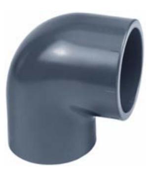 PVC ALBUER 90°
