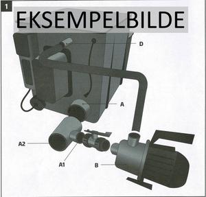 Bilde av RØRPAKKE TIL AEM EASY TROMMELFILTER