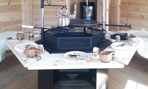 Kuva 6-kulmainen grilli Premium