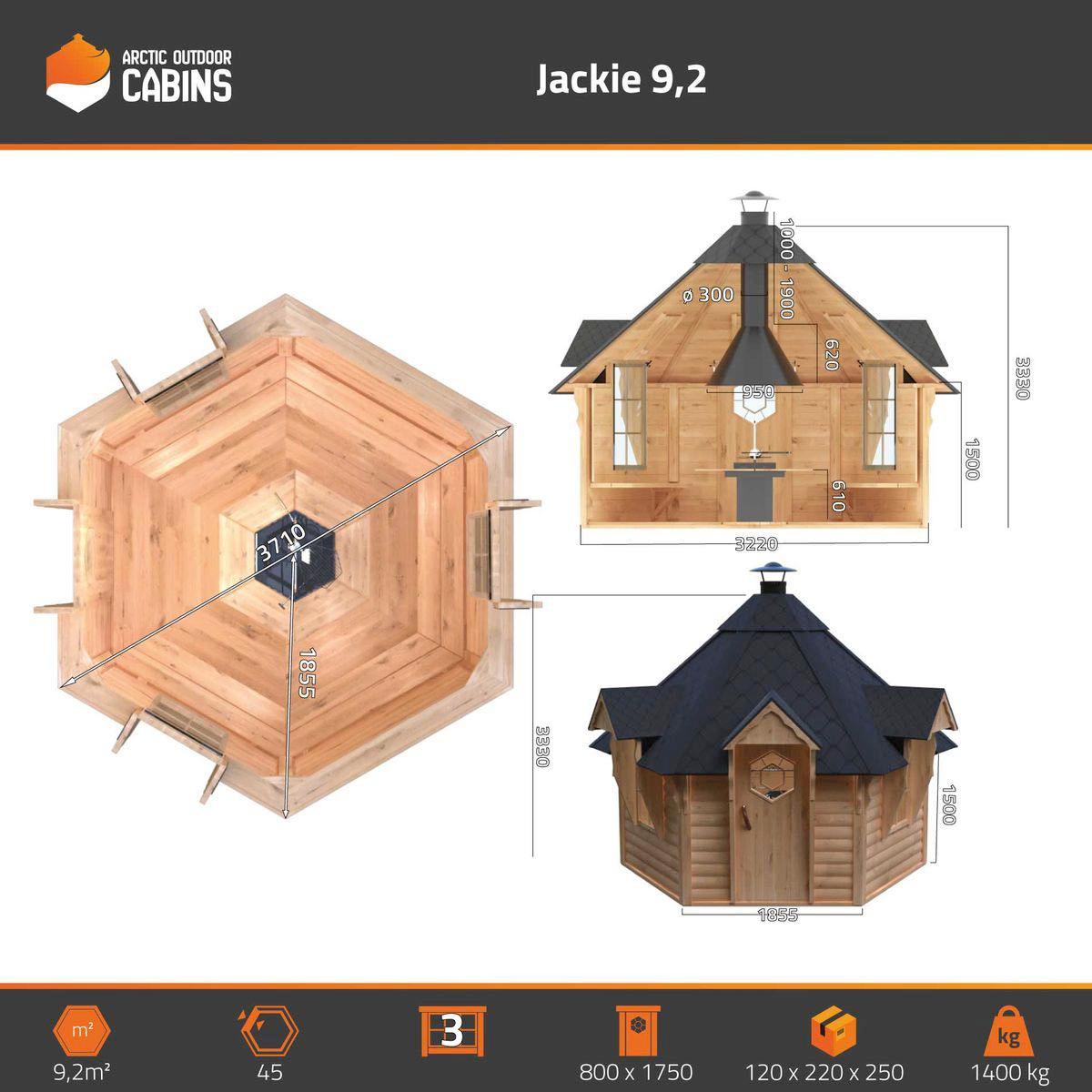 Grillikota Jackie 9.2 m2 Premium