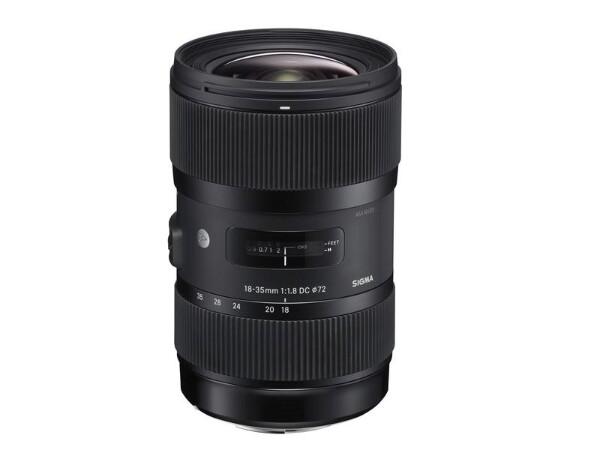 Bilde av Sigma 18-35/1.8 DC HSM Art for Canon brukt