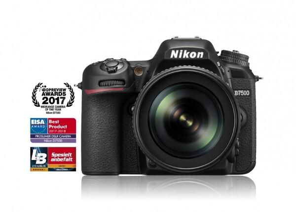 Bilde av Nikon D7500 + 18-140/3,5-5,6 VR
