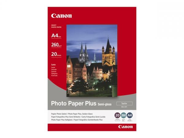 Bilde av CANON SG-201 semi glossy photo paper inkjet