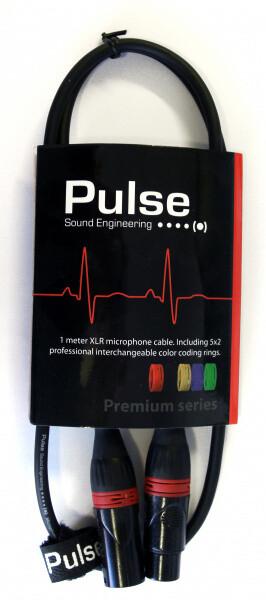 Bilde av Pulse Mikrofonkabel 1m XLR/XLR
