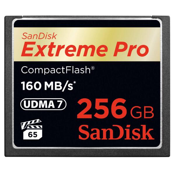 Bilde av SANDISK Minnekort CF Extreme Pro 256GB 160MB/s
