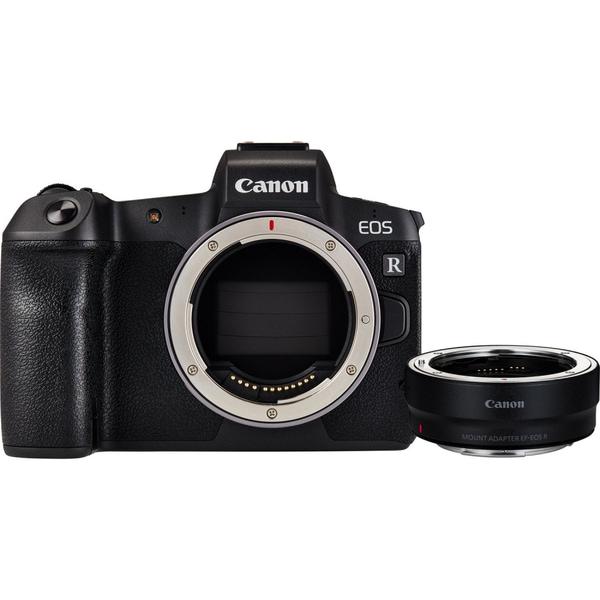 Bilde av Canon EOS R + EF-EOS R Adapter