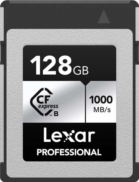 Bilde av LEXAR CFexpress Pro Silver Serie R1000W600 128GB