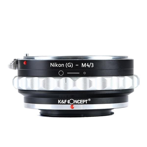 Bilde av K&F Nikon G/F/AI/AIS/D Objektiv til M43 MFT