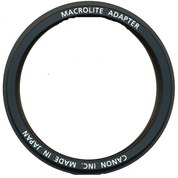 Bilde av Canon macrolite adapter 67C