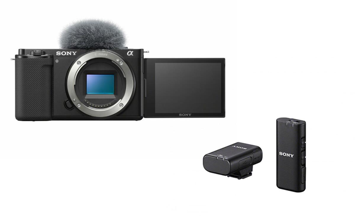 Sony ZV-E10 +  ECM-W2BT Wirelss Mic