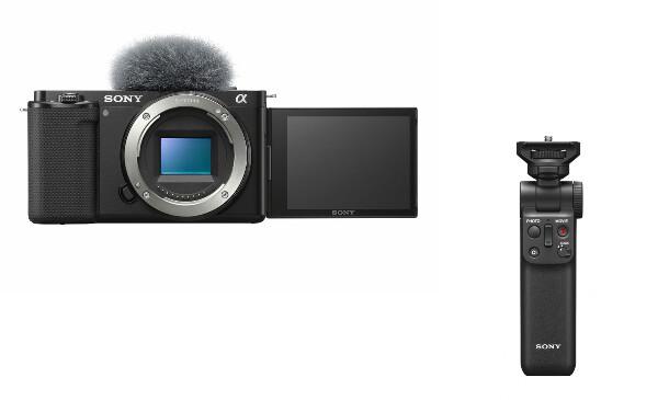 Bilde av Sony ZV-E10 + GP-VPT2BT grep