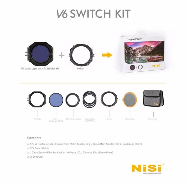 Bilde av NISI V6 Landscape + Switch Kit