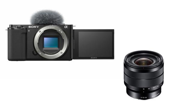 Bilde av Sony ZV-E10 + Sony E 10-18/4,0 OSS