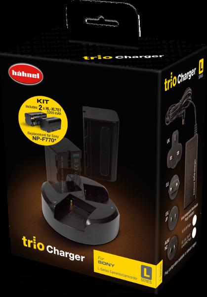 Bilde av HÄHNEL Trio Charger Sony L-series Kit