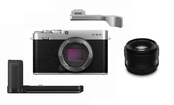 Bilde av Fujifilm X-E4 Sølv KIT + XF 35mm 1,4