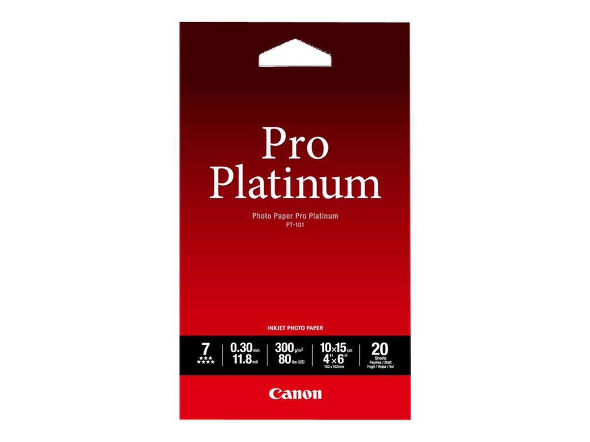 CANON PT-101 photo paper 10x15 20sh