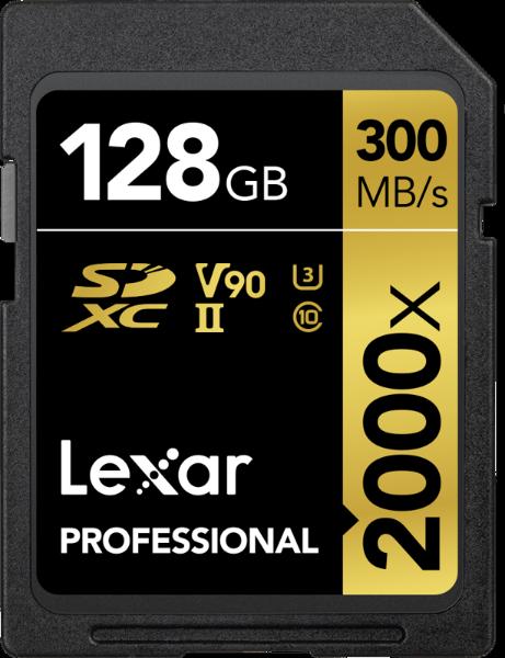 Bilde av Lexar Professional SDXC Class 10 UHS-II U3 2000x