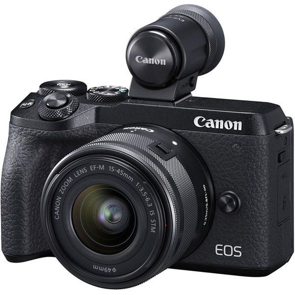 Bilde av Canon EOS M6 Mark II + 15-45/3.5-6.3 IS STM og