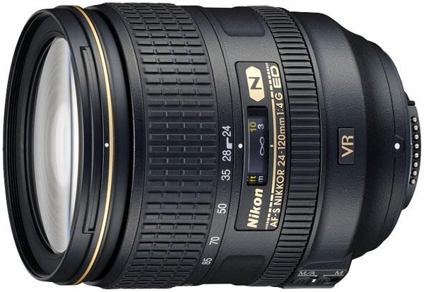 Bilde av Nikon Nikkor AF-S 24-120/4.0 G ED VR brukt