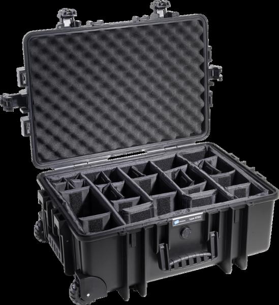 Bilde av BW Outdoor Cases Type 6700 Sort RPD (Oppdelt)