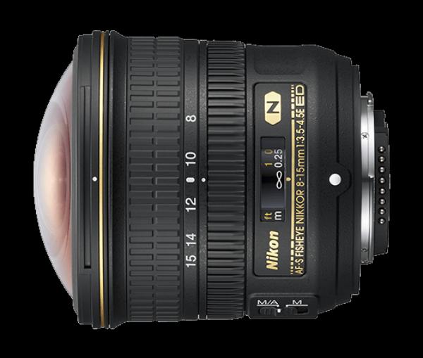 Bilde av Nikon AF-S FISHEYE NIKKOR 8–15mm f/3.5–4.5E ED