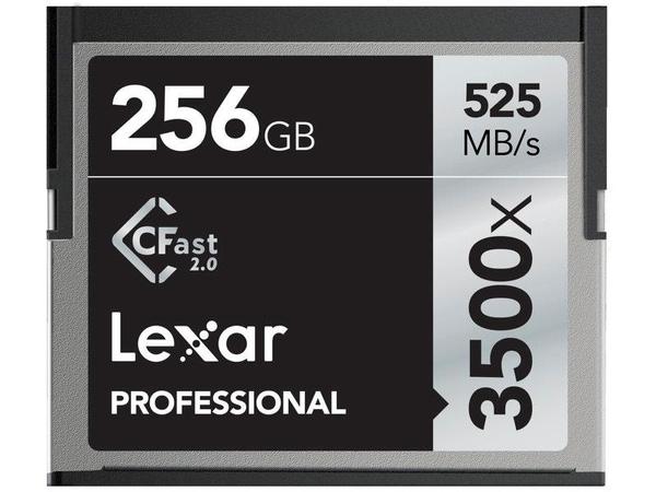 Bilde av LEXAR Pro 3500X Cfast 256GB